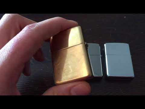 Black ice Chrome zippo. Polishing and cleaning care.