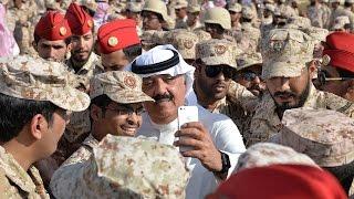 سمو الأمير متعب بن عبدالله يلتقي منسوبي لواء الأمير سعد بن عبدالرحمن الآلي بعد عودتهم من مهمتهم