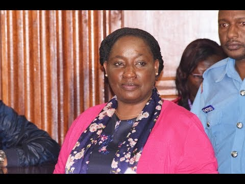 PS Lillian Omollo Enjoys Fish Fingers While In Remand As Other Suspects Eat Prison Food