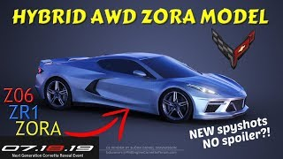 More C8 Corvette LEAKS tell us ALL about upcoming performance MODELS! Z06, ZR1, AND Zora?!