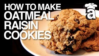 Oh So Good Oatmeal Raisin Cookies