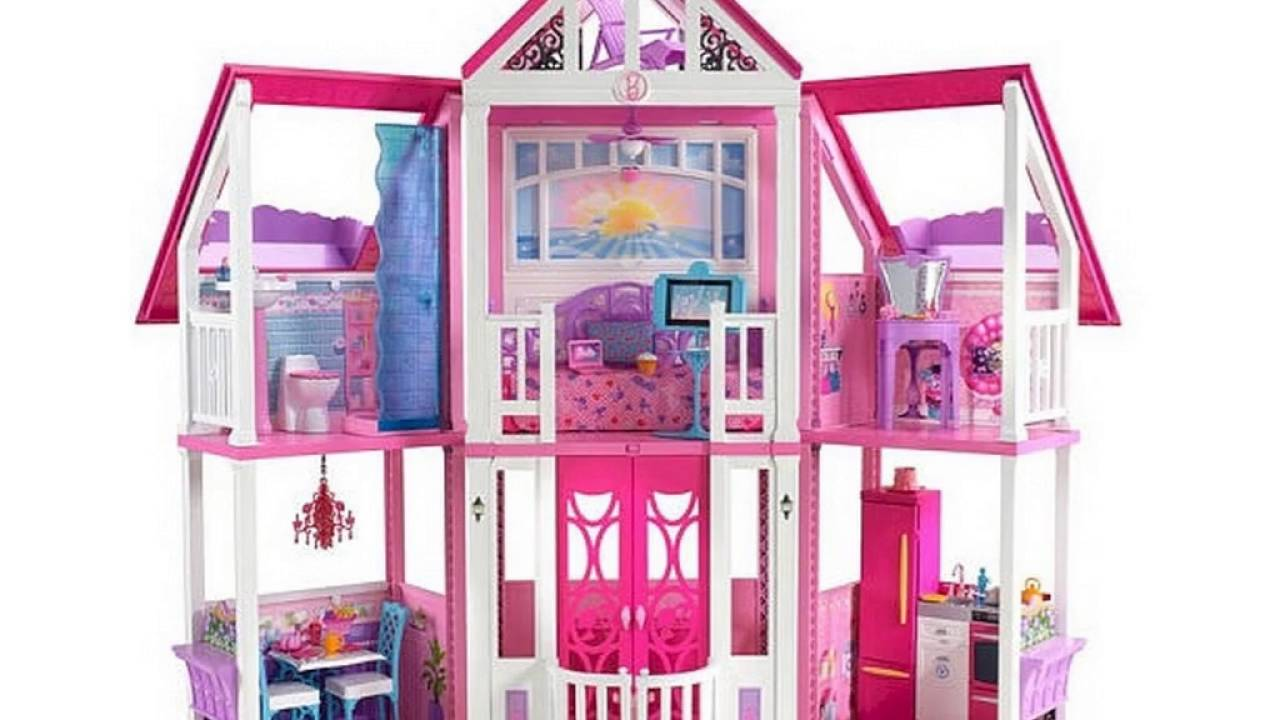 barbie house walmart