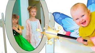 Девочки и игры с косметикой для принцесс
