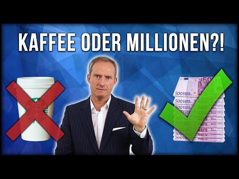 MILLIONEN oder KAFFEE | So sparst Du Dich automatisch REICH