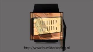 Presentatie Adorini Chianti Medium Deluxe humidor