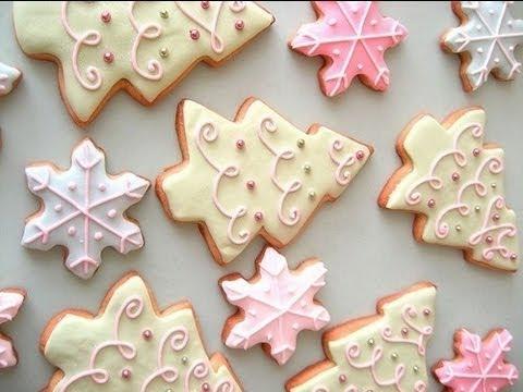 Come Fare la glassa per biscotti con albume e zucchero a velo