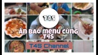 ĂN SẠCH MENU CÙNG T4S | Trải nghiệm quán ăn vặt Hương Thùy