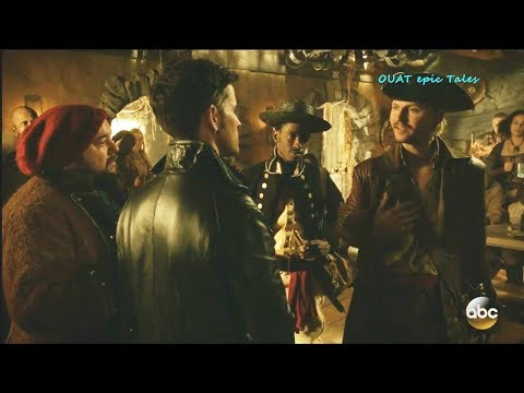 """Once Upon A Time 7x13  Hook & Captain Ahab """"Dangerous to call me Old Man"""" Season 7 Episode 13 Scenes"""