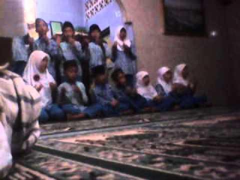 Sholawat Memperingati maulid nabi muhammad TPQ Nurul Fahmi