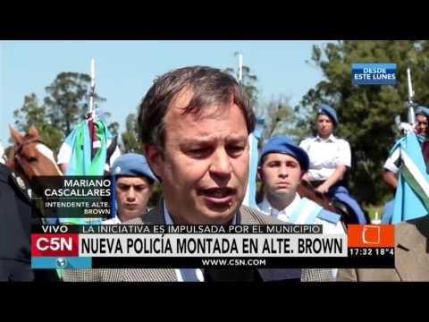 C5N - Sociedad: Nueva policía en Almirante Brown