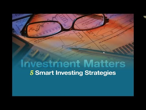 5 Smart Investing Strategies @askadamtorres - Century City CA