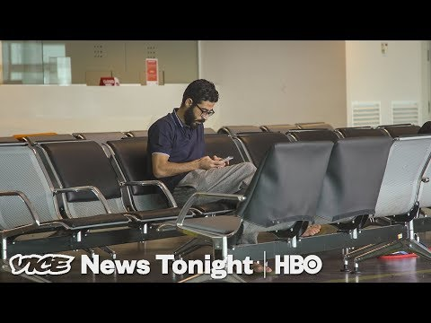 This Syrian Refugee Has Been Stuck In An Airport Transit Zone For More Than A Month (HBO)