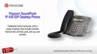 Sound Point IP 430 SIP Video Overview