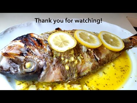 How To Broil Fish / Broiled Fish Recipe / Porgy Recipe/생선요리