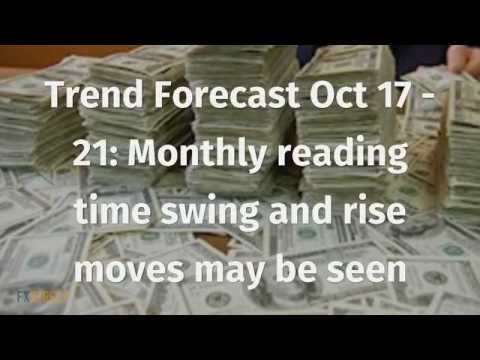 Trend Forecast Oct 17 - 21: Monthly reading time swing and rise moves may be seen