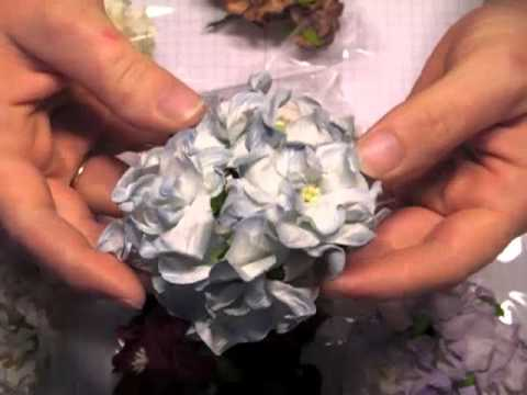 Mulberry Paper Flowers Haul - WOC