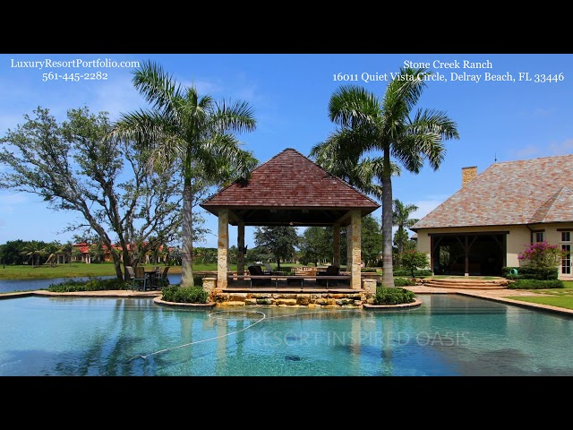Palm Beach County Most Exclusive Gated Real Estate | Stone Creek Ranch | Luxury Resort Portfolio