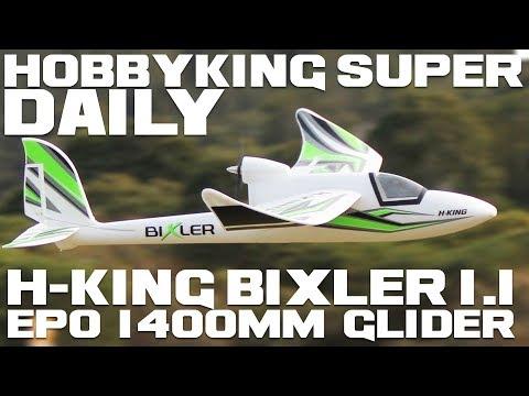 H-King Bixler 1.1 EPO 1400mm Glider - HobbyKing Super Daily