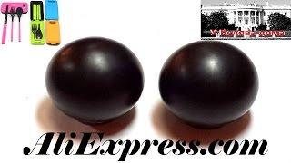 Каменные  шары для массажа и релаксации и походный набор столовых приборов на AliExpress(Пара массажных китайских каменный шаров приобретены на AliExpress.com за 3,54$ каждый. Шары имеют приличный вес..., 2016-04-14T11:29:06.000Z)