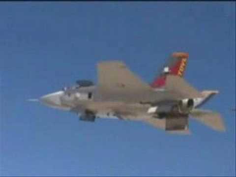 F-35 JSF VERTICAL TAKEOFF