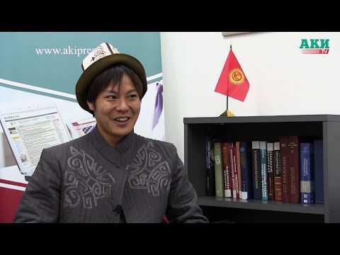 Учитель физкультуры из Японии Х.Ямамото расплакался, уезжая из Кыргызстана