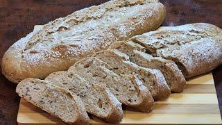 ПОЛЕЗНЫЙ ХЛЕБ в духовке Цельнозерновой Хлеб Получается у ВСЕХ