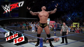 Excruciating Extreme Moves: WWE 2K17 Top 10