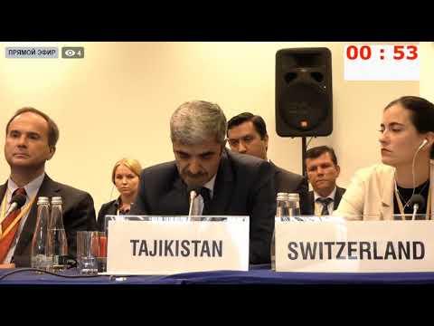Картинки по запросу ВАРШАВА. ОБСЕ. 25.09.2019 - Выступление представителя Таджикистана