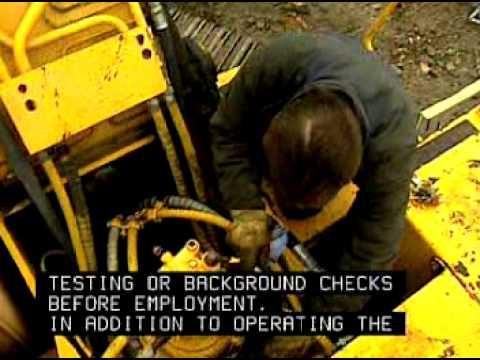 Excavating & Loading Machine Operators