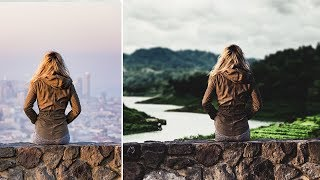 Photoshop cs6 Arka Plan Değiştirme  | Renk Uyumu | Montaj teknikleri