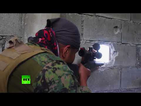 RAW: Philippine Troops foil ISIS-linked terrorist attack attempt