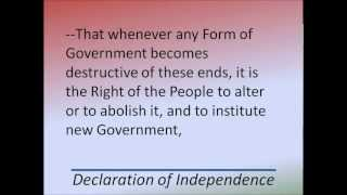 Declaration of Independence - Hear and Read the Full Text - Thomas Jefferson