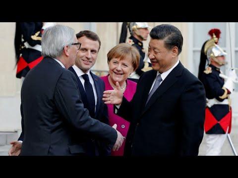 ماكرون: الحوار بين الصين وأوروبا ضروري ضمن السياق العالمي الحالي  - نشر قبل 2 ساعة
