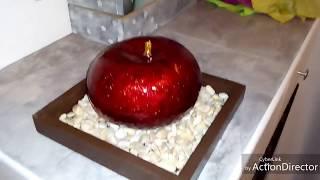 Gambar cover manzanas para centro de mesa con tinta parte 1 (tipo cerámica) DIY