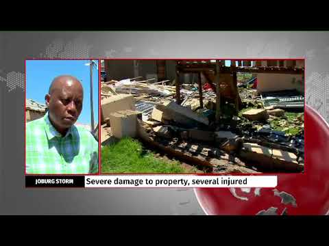 Joburg Storm: Mashaba says banks, builders must account