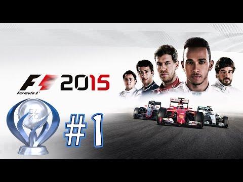 F1 2015 - Platinum Trophy Walkthrough - Part: 1