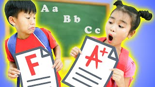 Kudo Pretend Play Student in Funny School Lessons For Kids - ABC Learn English Alphabet with Kudo