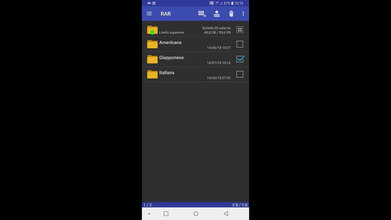 Come aprire file RAR su Android | Salvatore Aranzulla