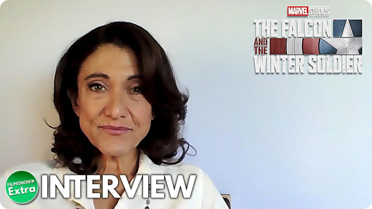 THE FALCON AND THE WINTER SOLDIER | Amy Aquino Official Interview
