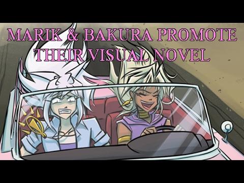 Marik & Bakura Promote Their Visual Novel