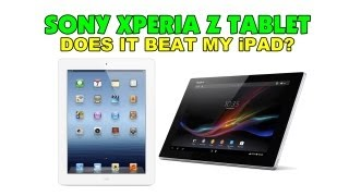 Sony Xperia Tablet Z - Has it won me over the Apple iPad ?