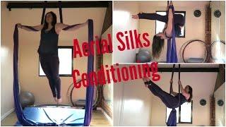 Aerial Silks Conditioning Exercises | UNIQUE AERIALISTS