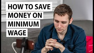 How to Save Money on Minimum Wage | Frugal Living