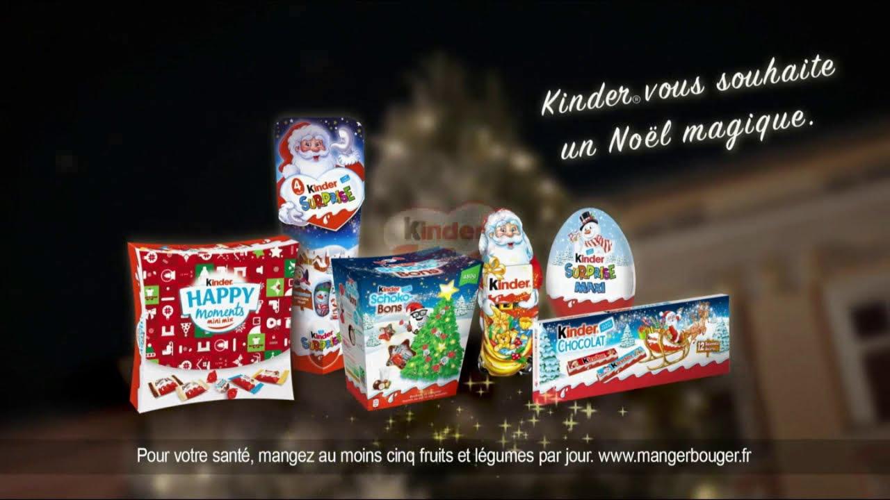 """Musique de la pub Kinder Chocolats Noël """"Kinder vous souhaite un noël magique""""  2021"""