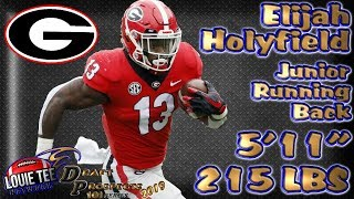 2019 NFL Draft Prospects 101 | Film Session | RB Elijah Holyfield