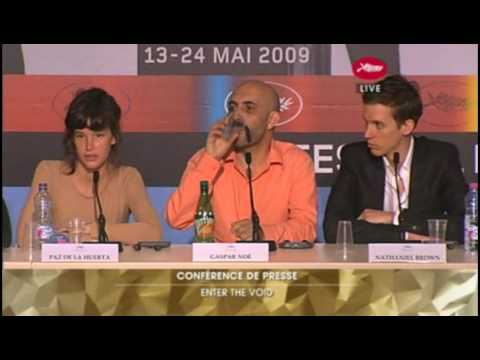 Enter the Void Press Conference - Cannes 2009 (3 of 4)