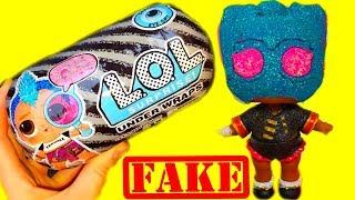 УЖАСНАЯ ЧЁРНАЯ КАПСУЛА ЛОЛ! НОВЫЙ МАЛЬЧИК или ДЕВОЧКА? New LOL Dolls Surprise/Fake