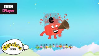 """Learn letter """"e"""" with the Alphablocks Magic Words 