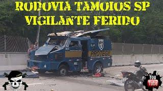 Tentativa de assalto a carro forte na Tamoios SP