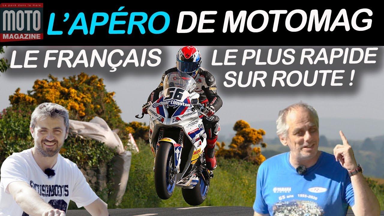 Julien Toniutti, le français le plus rapide sur route | Un Apéro avec Moto Magazine